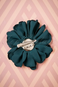 Lovely Large Fabric Flower Clip blue 208 30 26501 08142018 004W