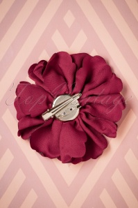 Lovely Large Fabric Flower Clip red 208 20 26500 08142018 002W