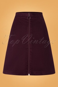 Mademoiselle Yeye Skirt With Pockets 122 20 25527 20180817 0005w