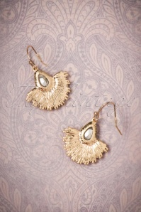 Lovely Crystal Fan Earrings 333 40 26482 08142018 005W
