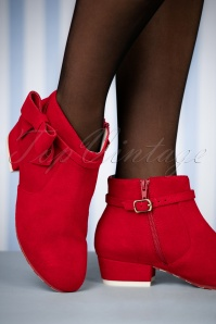 Lola Ramona Alice Red Hot Booties 441 20 25394 08152018 015W