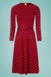 Mademoiselle Yeye Red Polkadot Dress 106 27 25516 20180817 0001w