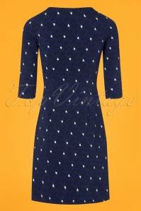 Mademoiselle Yeye Blue Dress With Swallows 106 39 25519 20180817 0007w