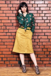Mademoiselle Yeye Goldfish Bow Blouse 112 49 25507 20180817 0009