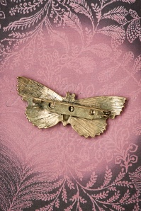 Lovely Jet Butterfly Brooch 340 10 26476 08142018 005W