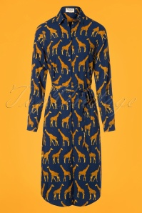 Sugarhill Boutique Reva Giraffe Shirt Dress 106 39 25566 20180817 0004W