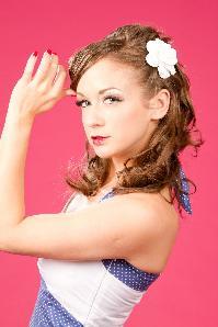 Kakakuloa White Rose hairflower hairclip