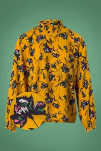 Smashed Lemon Yellow Floral Blouse 25615 20180807 0001WV