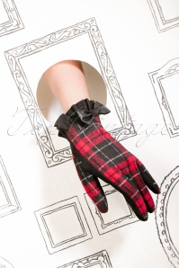 Amici Cavan Gloves Red Black 25925 12062018 009aW