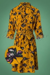 Smashed Lemon Yellow Floral Dress 25614 20180807 0001wv