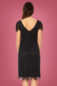 GatsbyLady Downtown Abbey Black Pencil Dress 100 10 26811 20180821 002