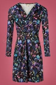 Yumi Iris Jersey Dress Purple  100 14 25698 20180821 0001W