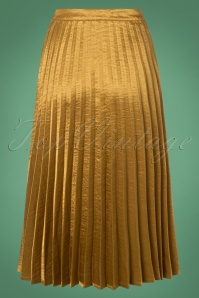 Yumi Golden Pleated Skirt 129 91 25693 20180821 0003W