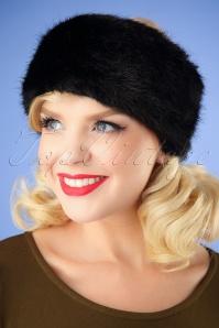 Amici Monroe Headband Black 208 10 25919 08232018 001W