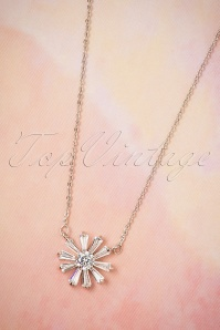 Collectif Clothing Diamant Floral Necklace 300 92 25563 08222018 003W