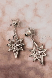 Collectif Clothing Silver earrings 333 92 25550 08222018 005W