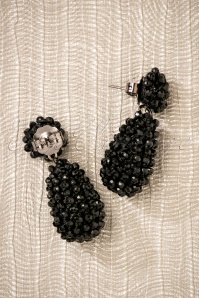 Glamfemme Earrings in Black 330 10 26868 08212018 002W