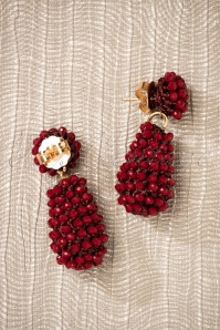 Glamfemme Earrings in Red 333 20 26869 08212018 007W