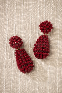 Glamfemme Earrings in Red 333 20 26869 08212018 006W