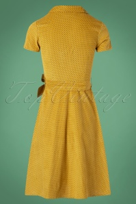 Circus Pindot Swing Dress in Yellow 102 80 25189 20180822 0011W