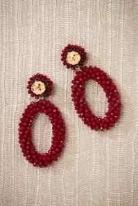 Glamfemme Earrings in Red 333 20 26867 08212018 006W