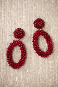 Glamfemme Earrings in Red 333 20 26867 08212018 004W