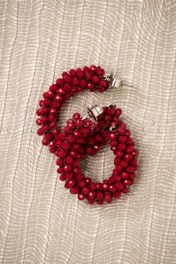 Glamfemme Earrings in Red 333 20 26866 08212018 003W