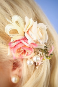 Lovely Flower Hairclip pin 201 22 26485 08232018 002W