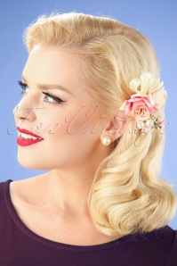 Lovely Flower Hairclip pin 201 22 26485 08232018 001W