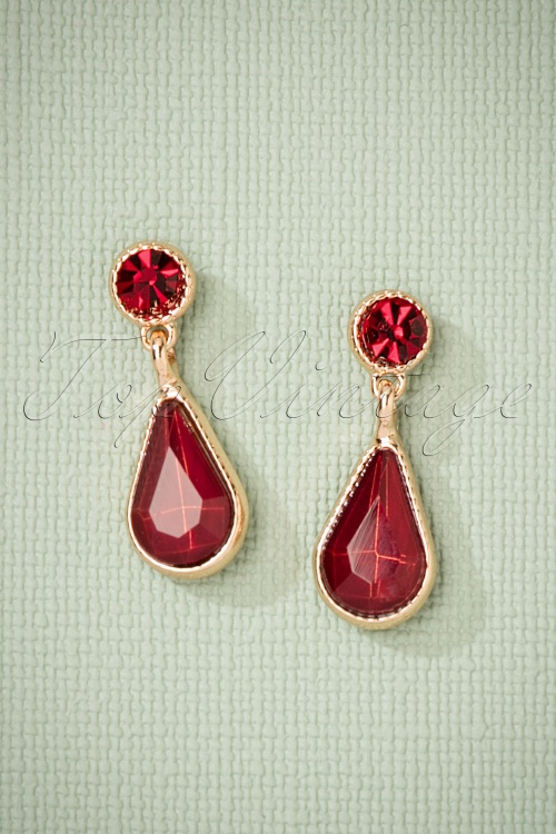 Glamfemme Earrings in Red Gold 330 20 26872 08212018 002W