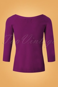 Banned Ruby Tie Knot Knit Top Purple26235 20180709 0004
