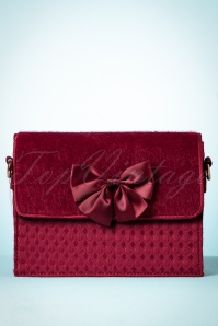 Ruby Shoo Clutch Mandala in Burgundy 210 60 25096 20180823 0005w