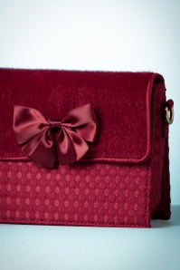 Ruby Shoo Clutch Mandala in Burgundy 210 60 25096 20180823 0004c