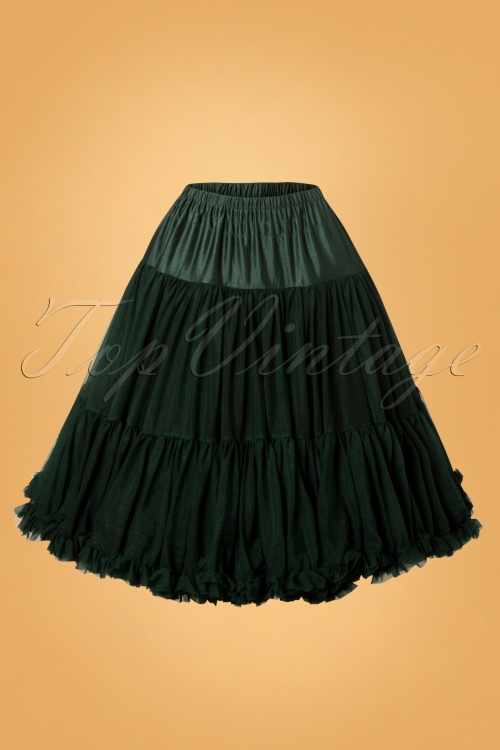 Banned 50s Lola Lifeform Petticoat in GreenW