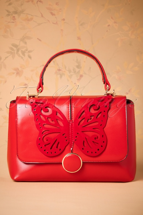 Banned Papilio Handbag Red 212 20 26172 07092018 003W