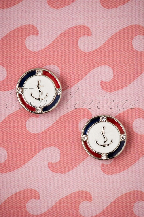 ZaZoo Round Anchor Earrings 333 59 26988 08222018 003W