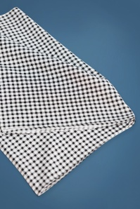Unique Vintage Pin Up Black and White Checkered Hair Scarf 208 14 26576 24082018 02A