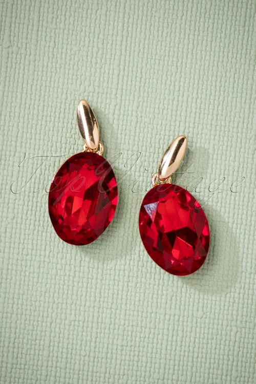 Glamfemme Earrings in Red Gold 330 20 26873 08212018 002W