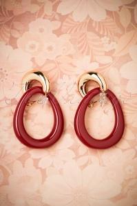 Glamfemme Earrings in Wine Gold 333 20 26863 08212018 004W