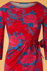 Lien en Giel Red Roses Dress 100 27 25457 20180824 0001V