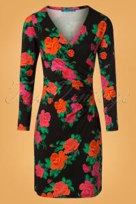 Lien en Giel Buenos Aires Roses Black Dress 100 14 25455 20180824 0002W