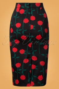 Collectif Clothing Amber Rose Stem Pencil Skirt 120 14 24847 20180702 0004 1W