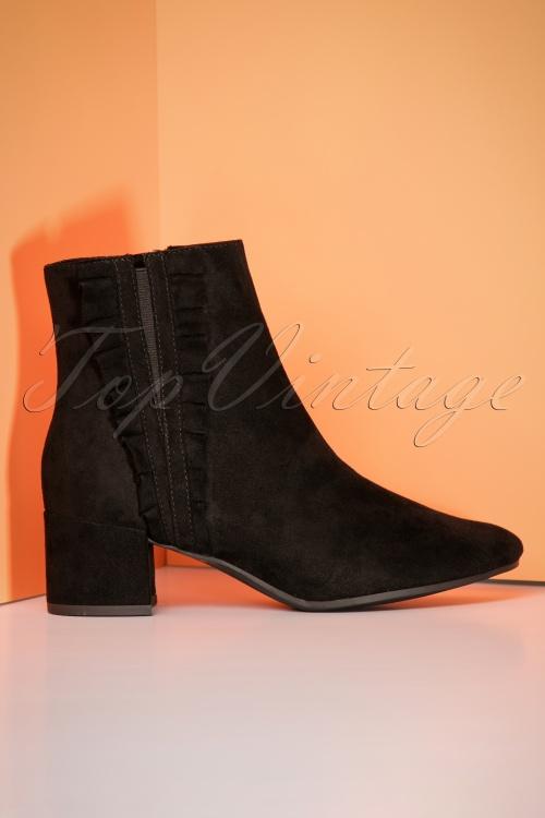 Tamaris Black Ankle Boots 441 10 25786 08302018 010W