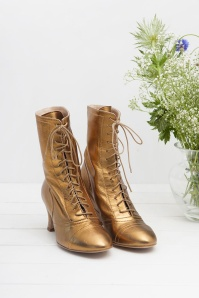 Miss L Fire Frida Bronze Booties 441 91 25413 07112018 002
