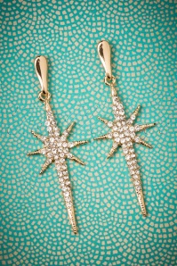 50s Estelle Glitz Earrings in Gold