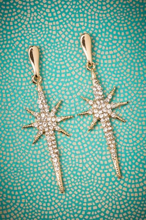 Collectif Estelle Glitz Earrings 333 91 25551 08302018 002W