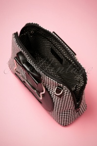 Banned Retro Dixie Handbag Houndstooth 212 14 26167 09032018 005W