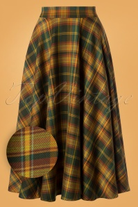 Vixen Bridget Plaid Cirkle Skirt 122 49 25023 20180830 0008 1W1