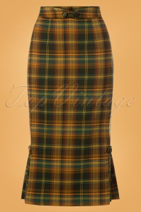 Vixen Stella Plaid Pencil Skirt 120 89 25020 20180829 0009W
