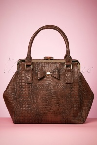 40s Molly Bag in Brown